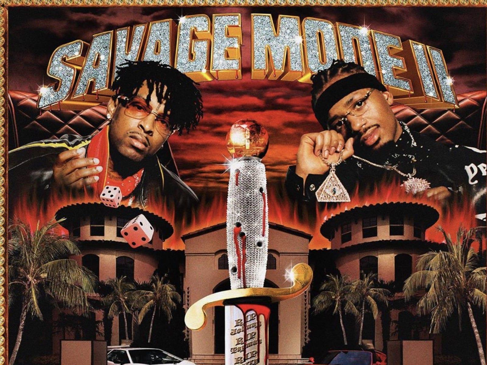 21 Savage + Metro Boomin Reveal Savage Mode II Album Cover
