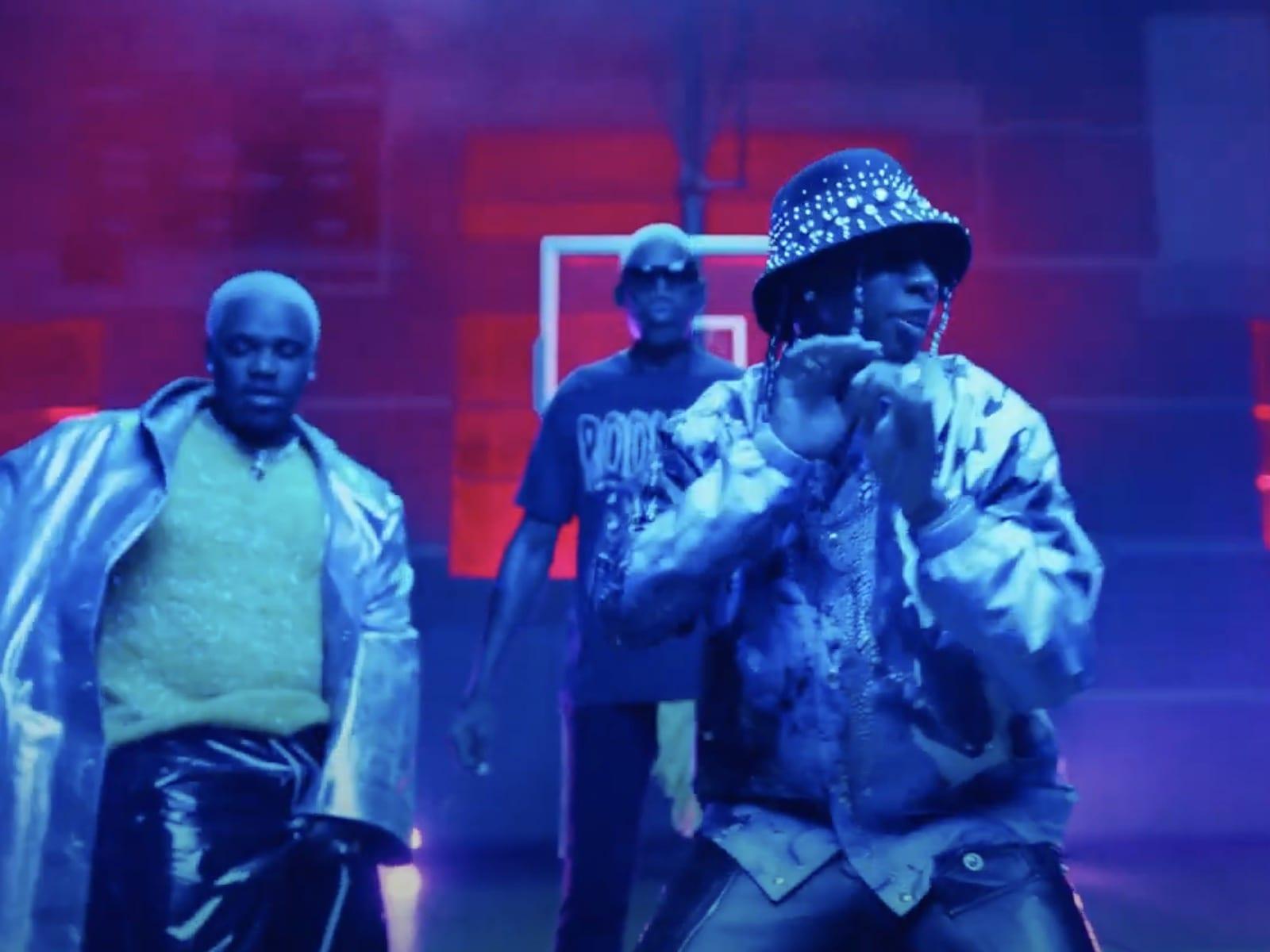Dennis Rodman Music Video A$AP Ferg Tyga 11
