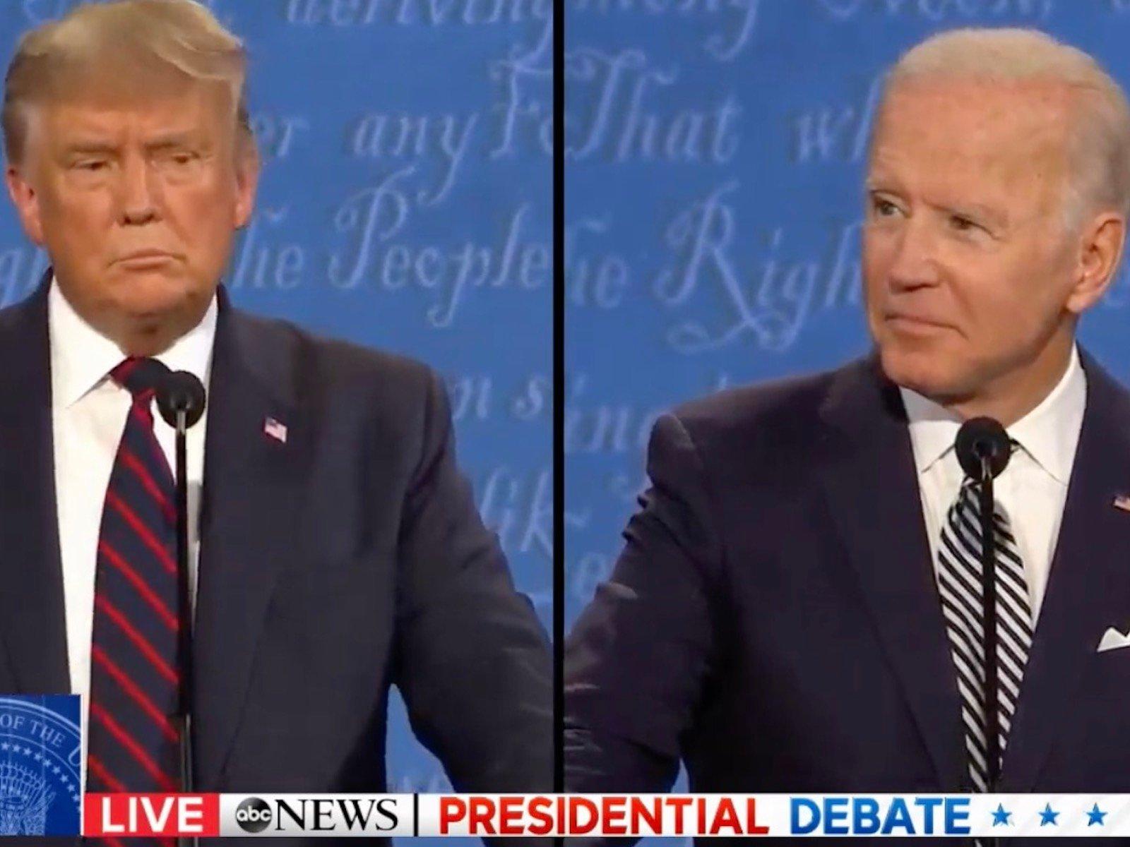 Joe Biden and Donald Trump Face-Off In First 2020 Presidential Debate [Live Stream]