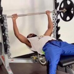 Big Sean Shows Off His Intense Workout Goals