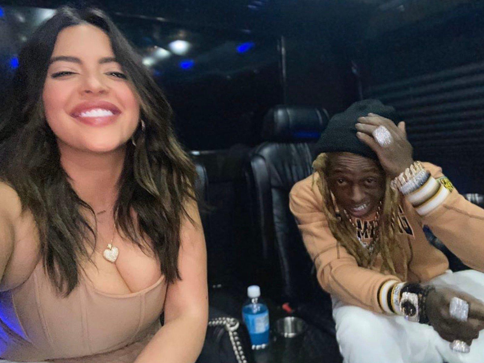 Denise Bidot Lil Wayne Boo'd Up Moments