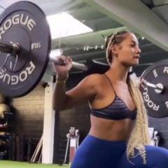 DaniLeigh Burns Up A Major Sweat W: Her Workout Goals