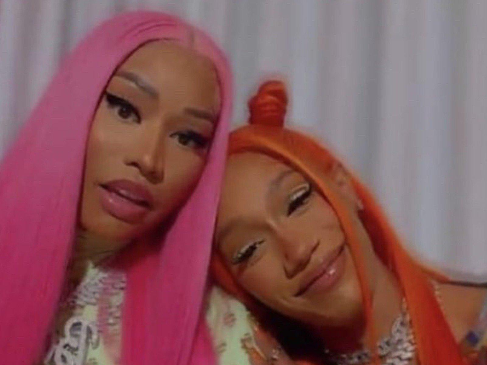 Nicki Minaj Can't Believe Young Thug's All-Pink Fashion Slay  SOHH.com