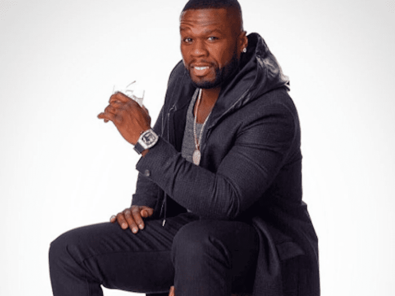 50 Cent's Not Effen W/ Vodka Anymore, Waves Flag In Diddy Ciroc War?