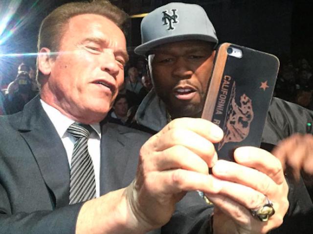 Arnold Schwarnegger 50 Cent