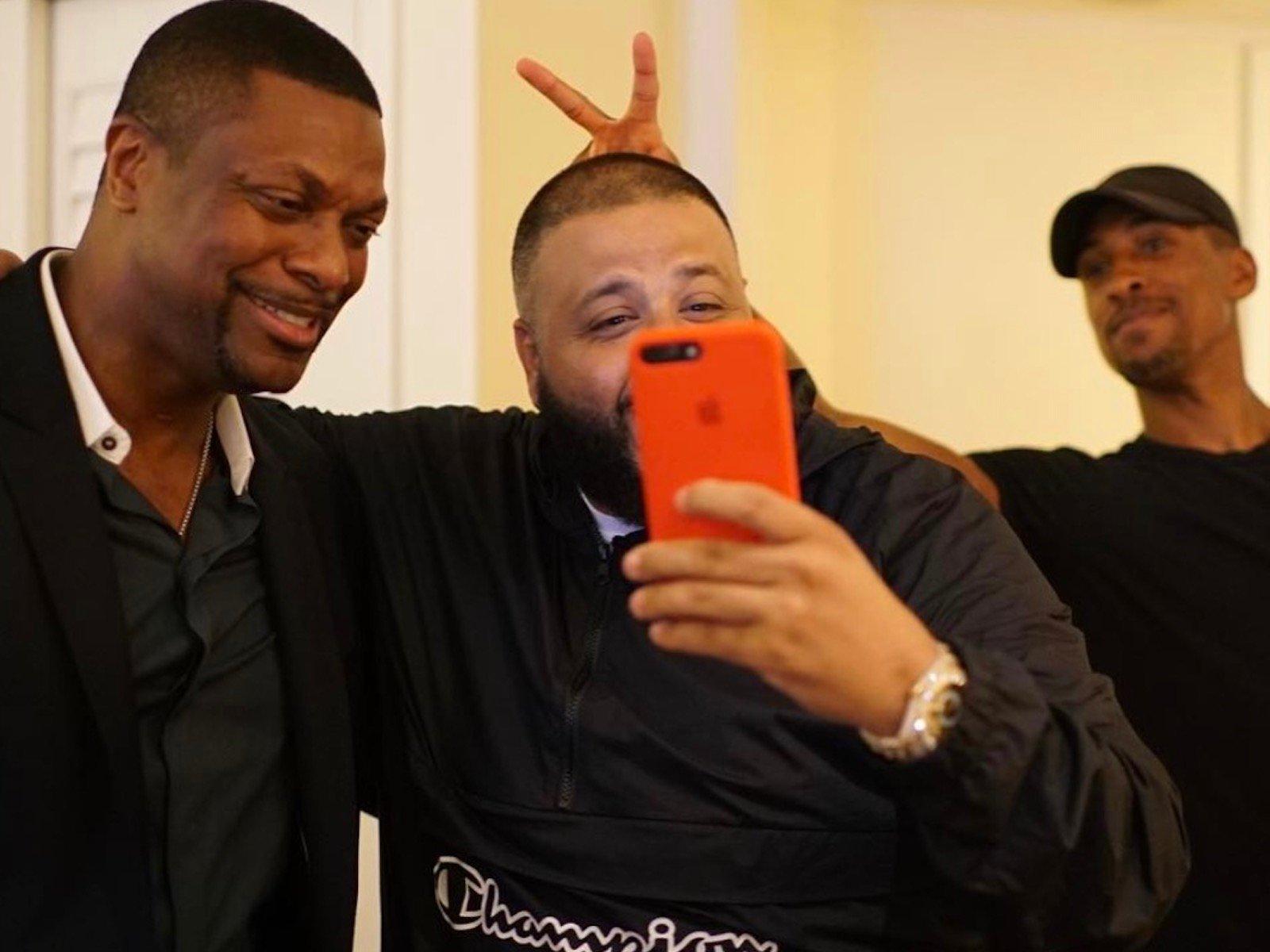 Chris Tucker DJ Khaled