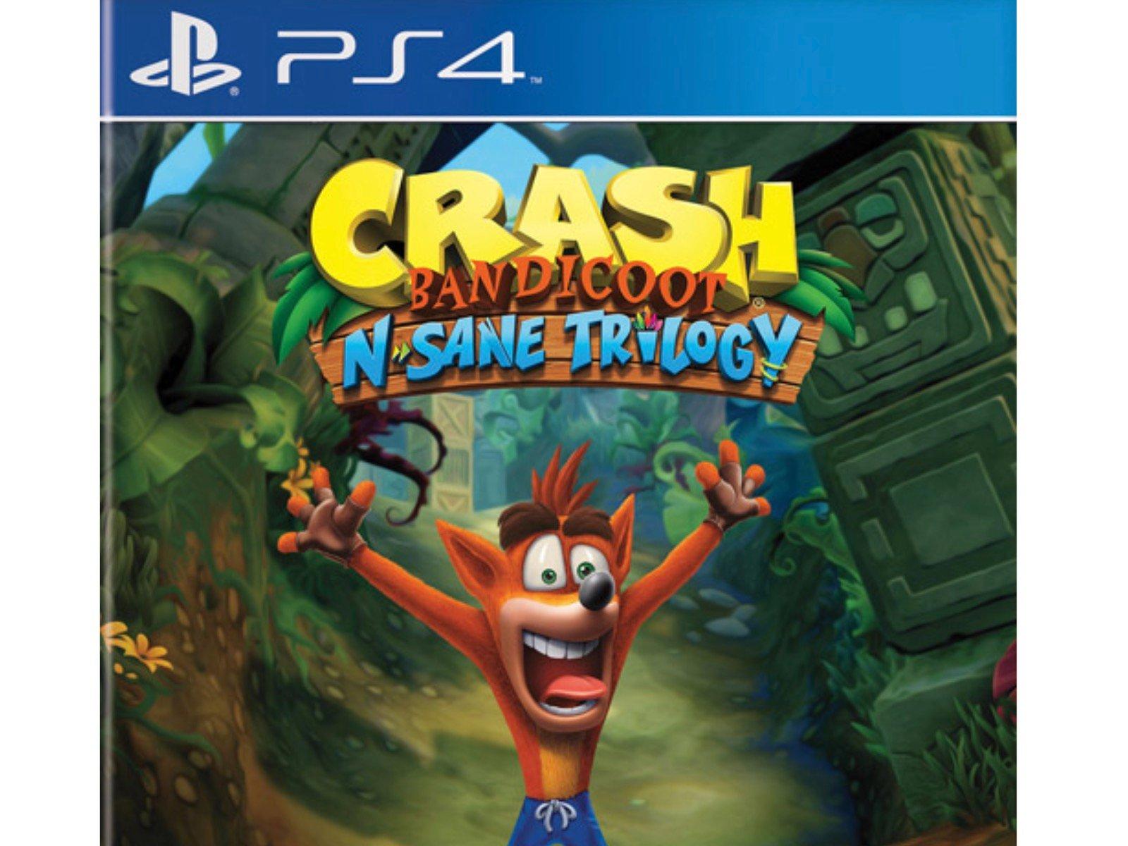 Crash Bandicoot N Sane Trilogy Video Game Action Packed Fun