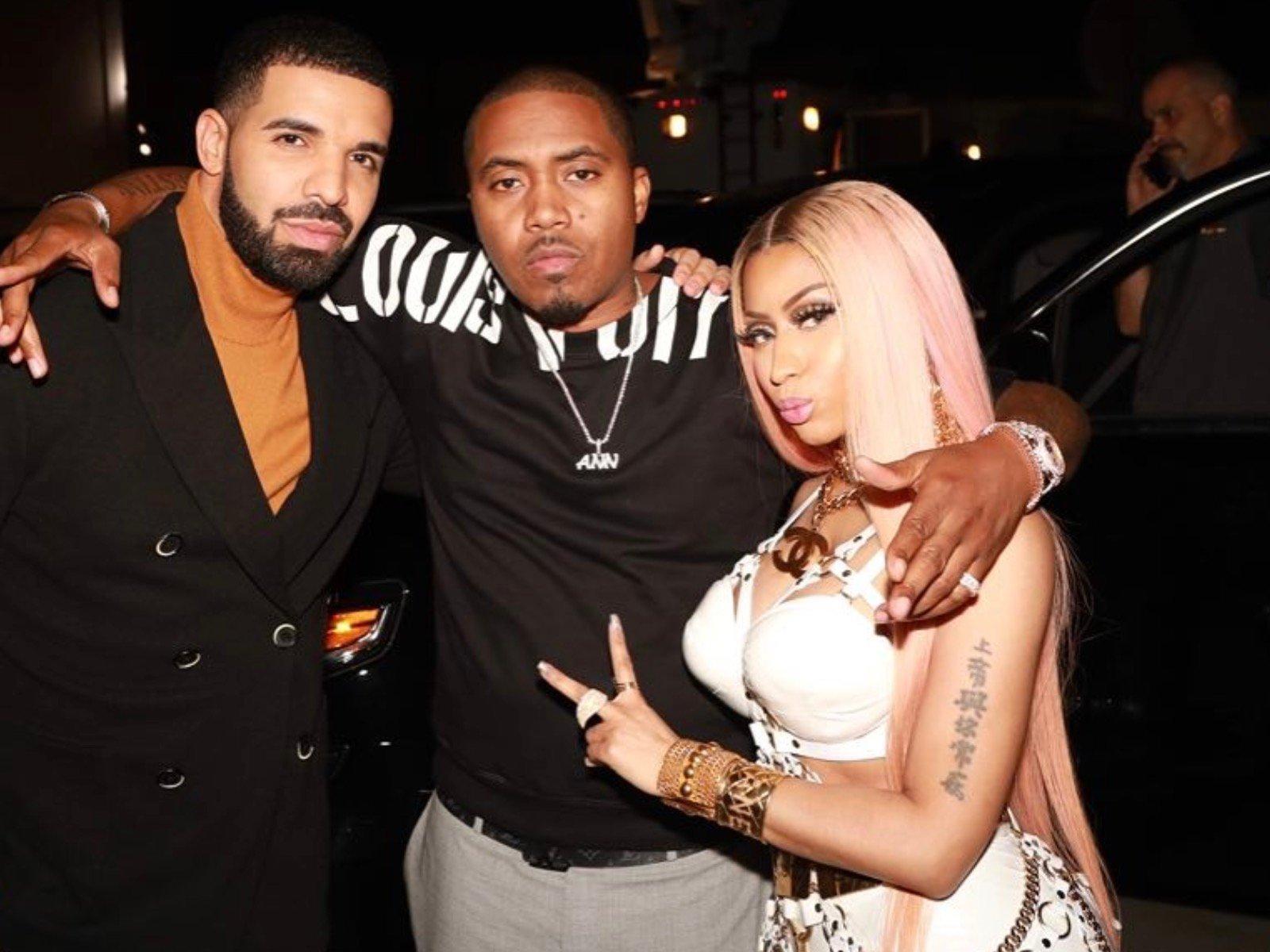 Drake Nas Nicki Minaj