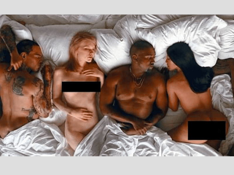 Opinion Kayne wests nude accept. The