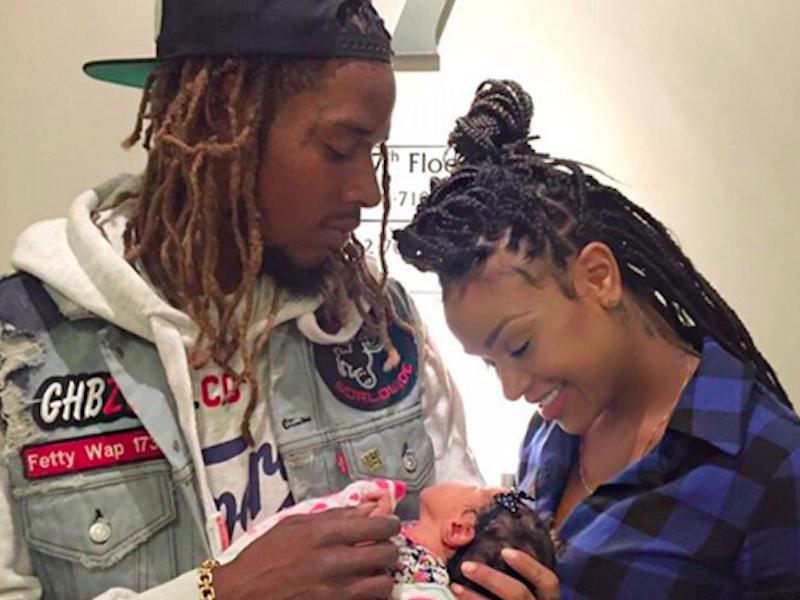 Fetty Wap's Baby Mama Calls Gucci Mane Trap Goat: