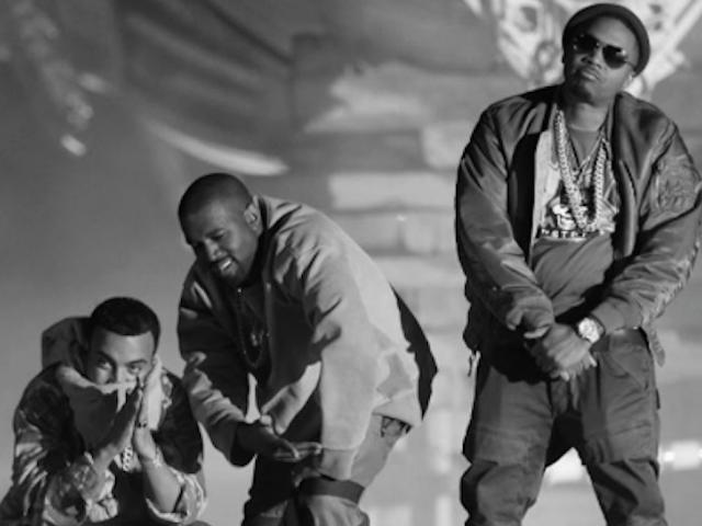 French Montana Kanye West Nas