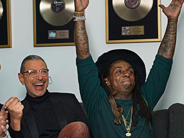 Jeff Goldblum Lil Wayne