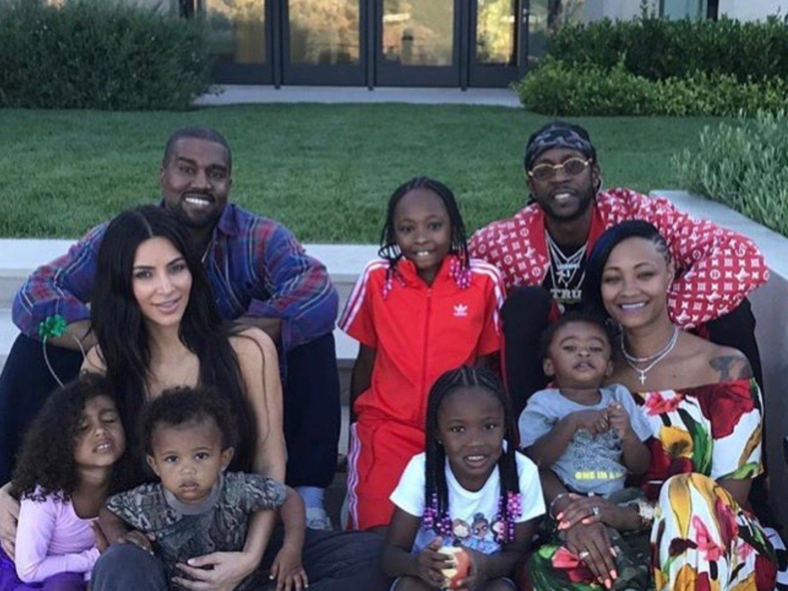 Kanye West Kim Kardashian 2 Chainz