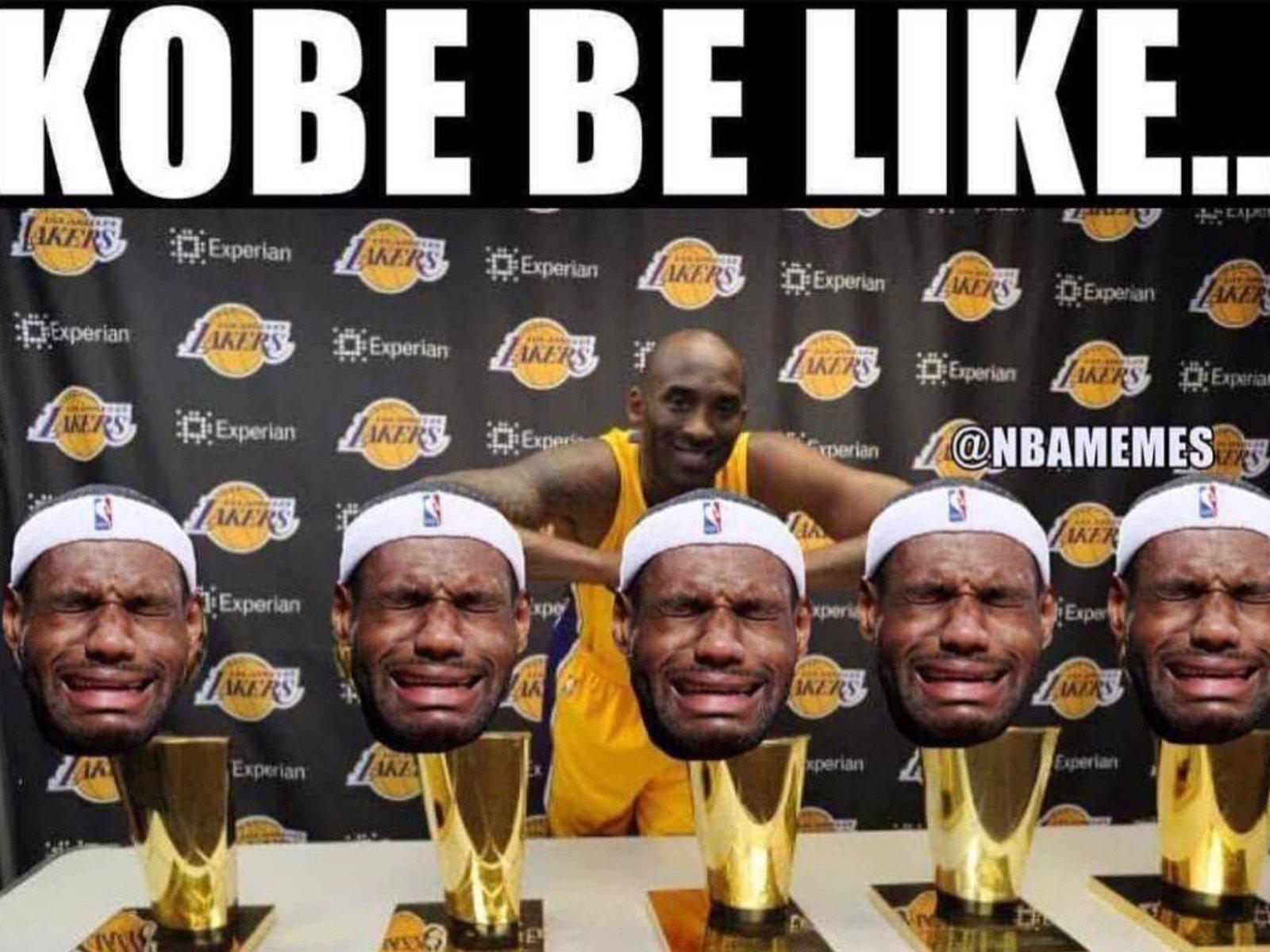 Kobe NBA Finals LeBron Meme