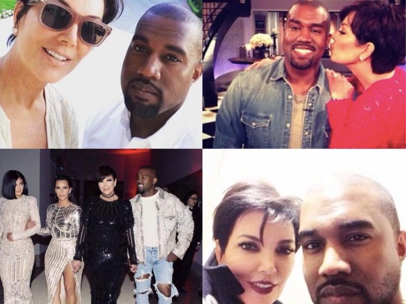 Kris Jenner Kanye West