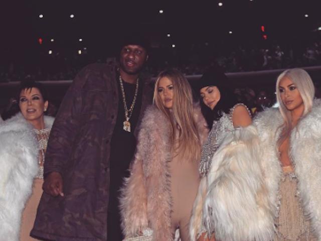 Lamar Odom Kris Jenner Kim Kardashian West
