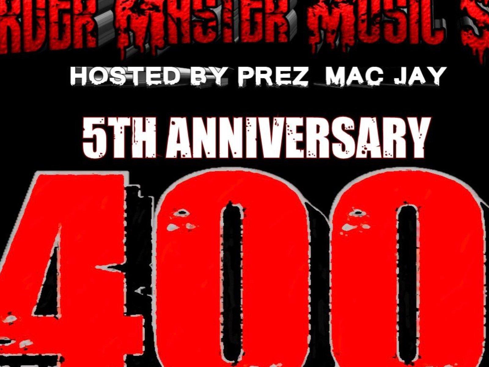 Murder Master Music Show 400 Episode