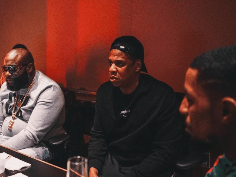 Rick Ross Jay Z Rockie Fresh