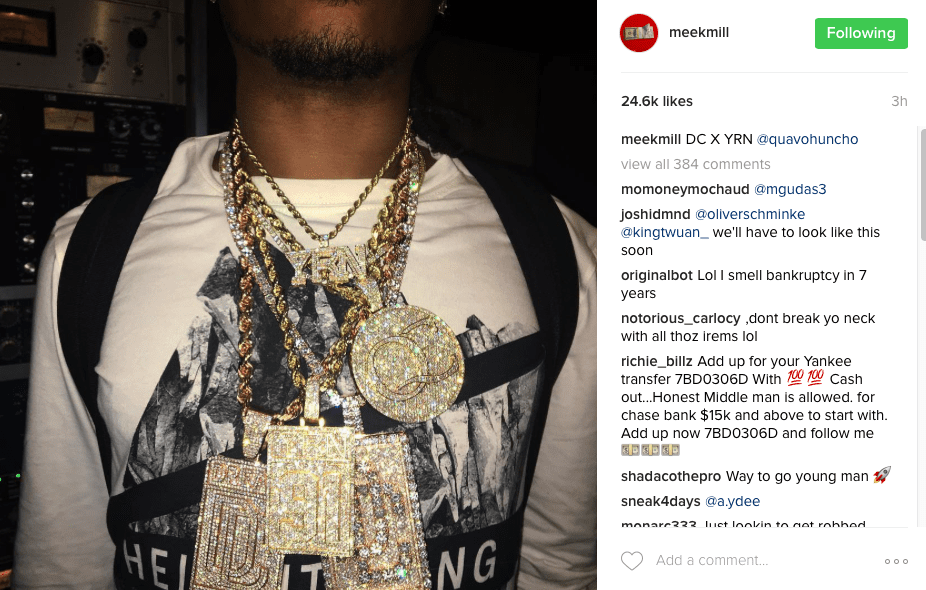 Dj Mustard Amp Migos Quavo Show Meek Mill Dreamchasers