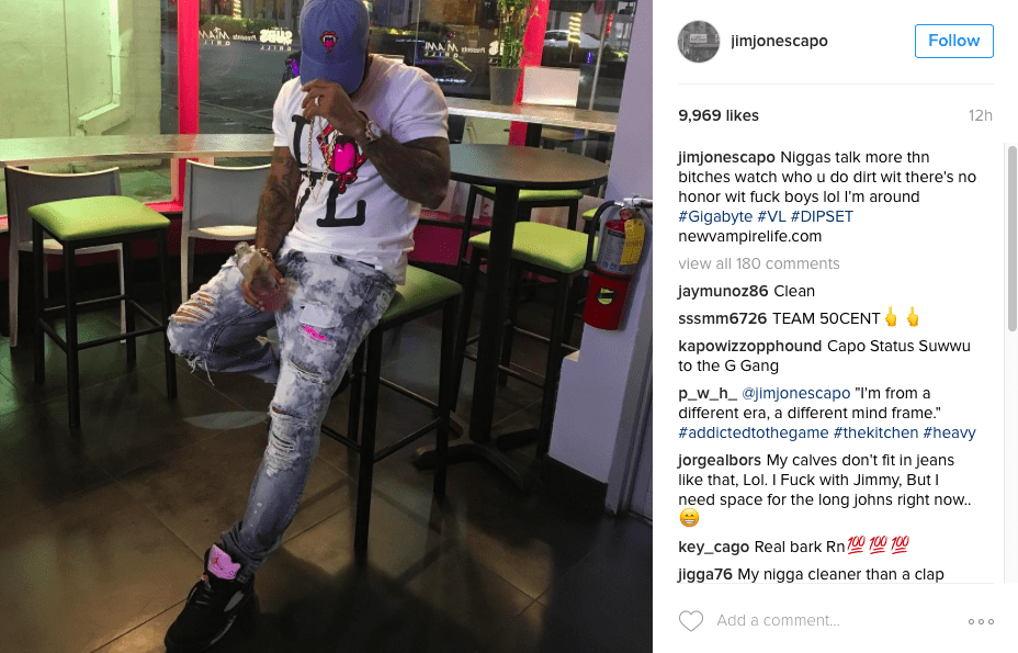 """Jim Jones Extends Hand To Cam'ron: """"I Would Love To Do A Diplomat Album Above All The Bulls**t""""  –"""