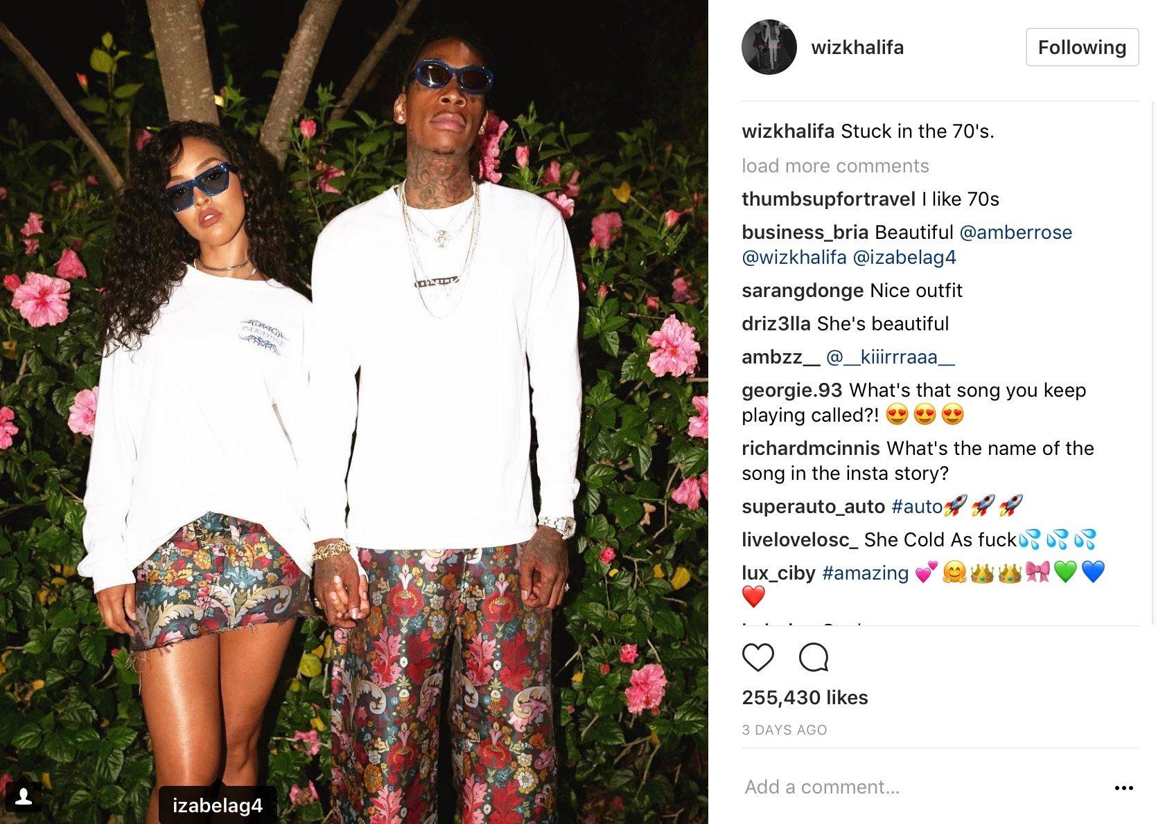 Wiz Khalifa Isn't Letting His Bae Outta Sight Anytime Soon