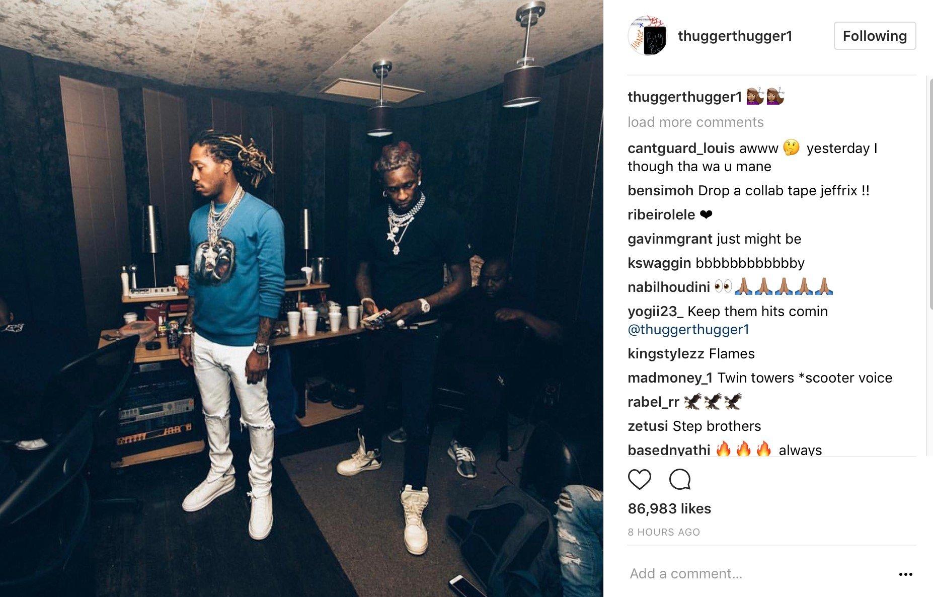 Future, Nicki Minaj & Young Thug Hit The Club  –