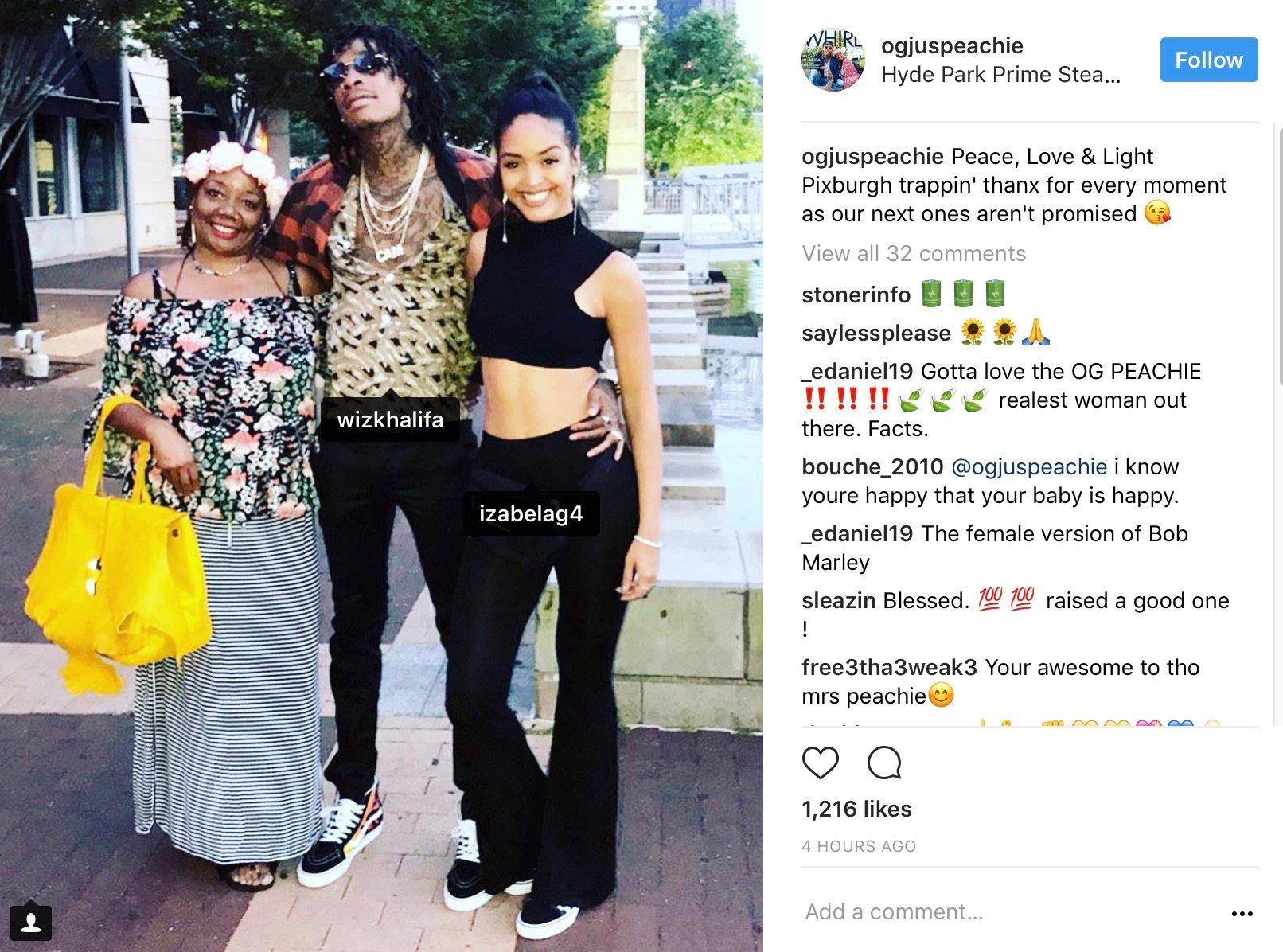 Wiz Khalifa & Longtime Bae Izabela Low-Key Call It Quits? –