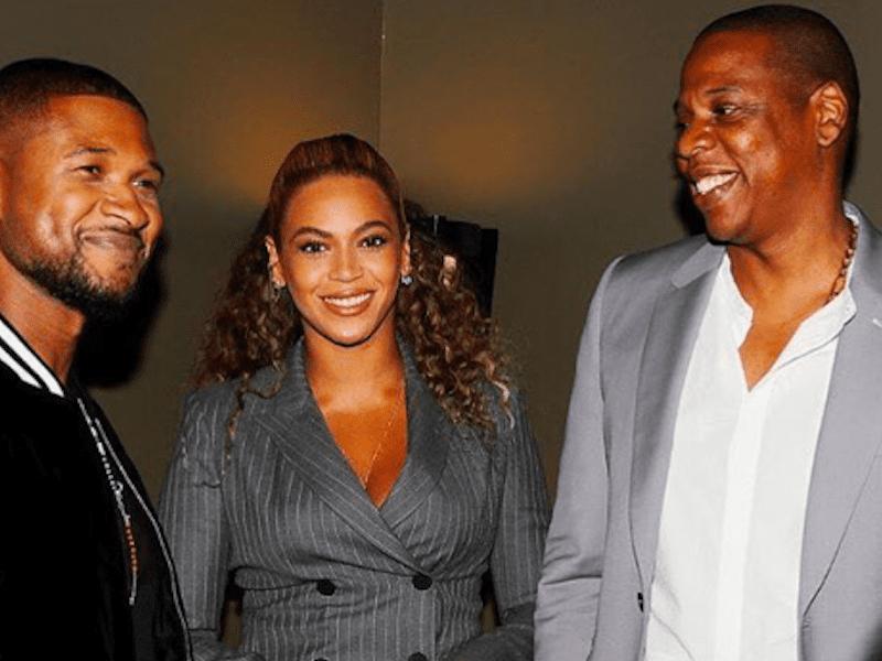 Usher Beyoncé Jay Z