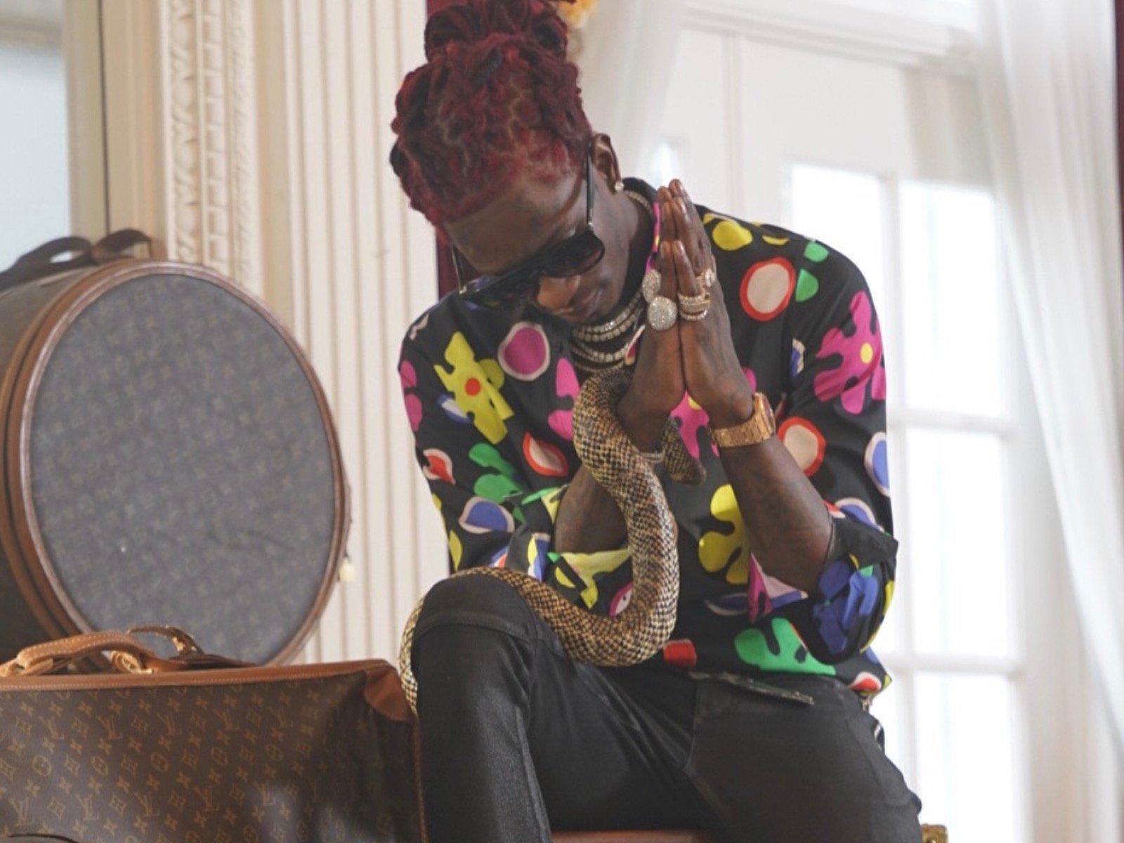 """Young Thug Says He's The Thug Tupac Shakur Never Became: """"I'm The New Pac"""""""